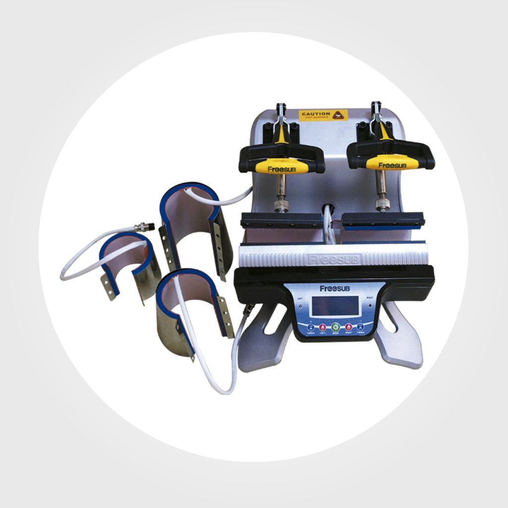 Maquina de tazas doble estacion con 3 resistencias-Precio 1400 soles