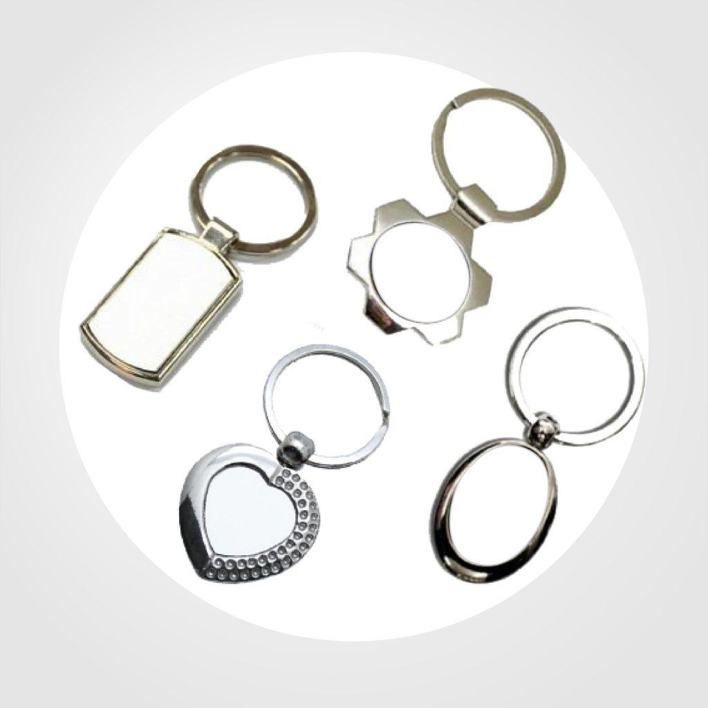 llaveros metalicos- Precio 4.80