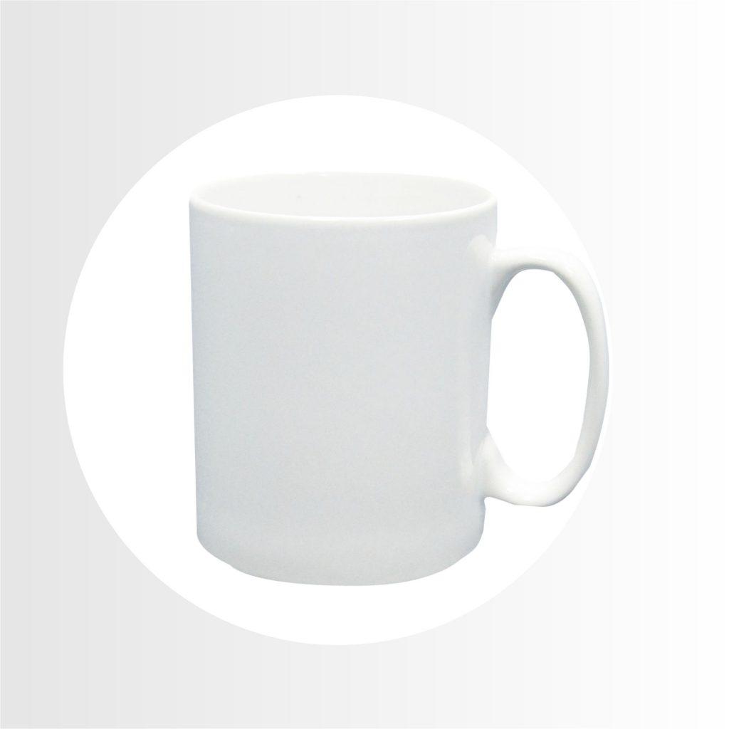 taza blanca 11 oz -Precio 3.30