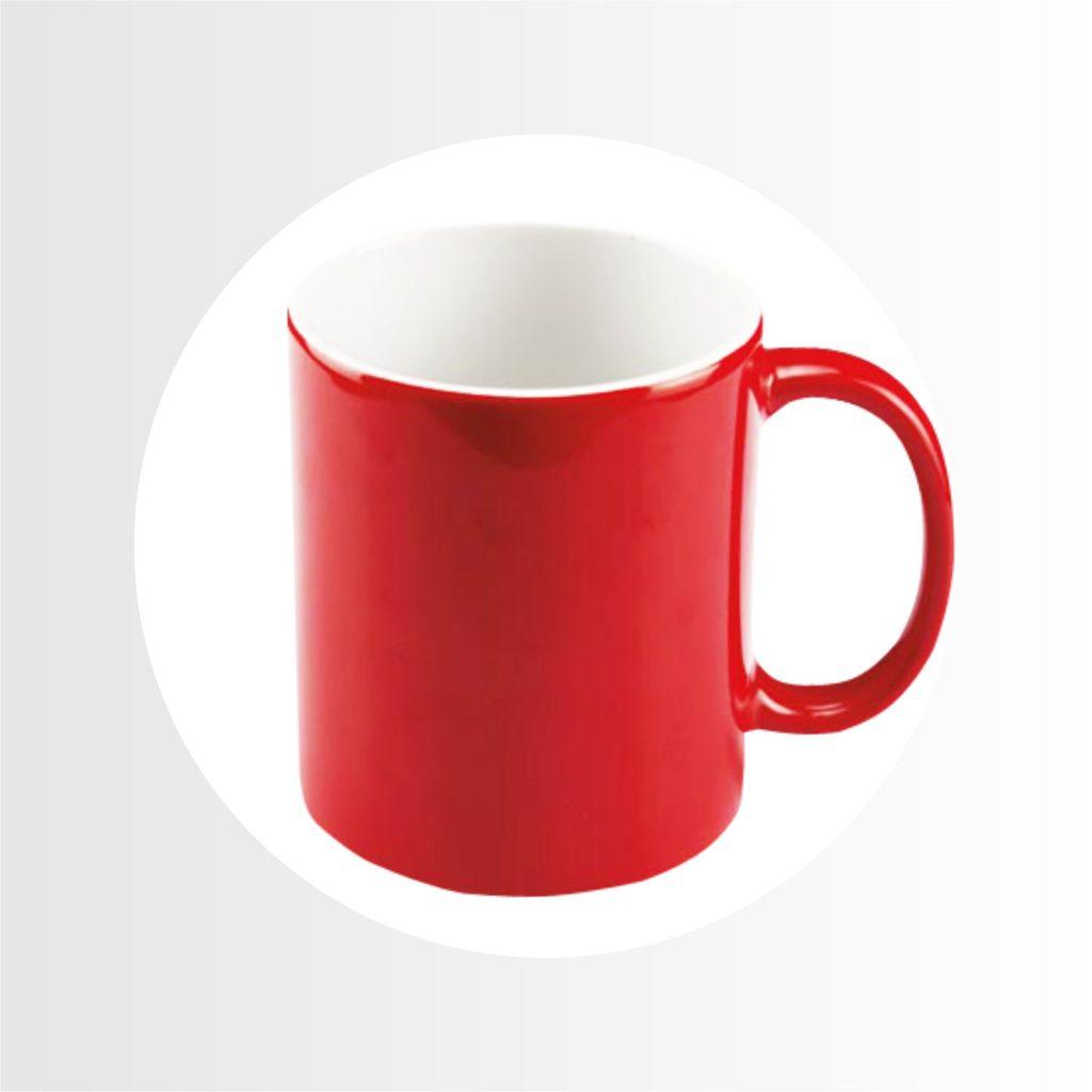 taza magica roja-Precio 8.50
