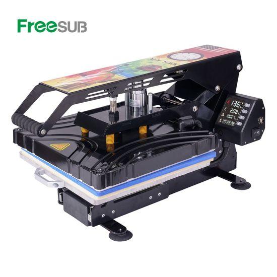Freesub-Automatic-Open-38-38-T-Shirt-Heat-Press-Machine-Flatbed-Heat-Printing-Transfer-Machine